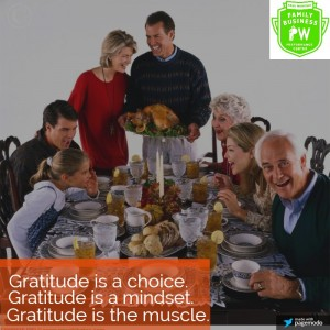 3 things to remember so the family business won't ruin your holiday dinner!