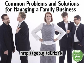 Solutions for Managing a Family Business